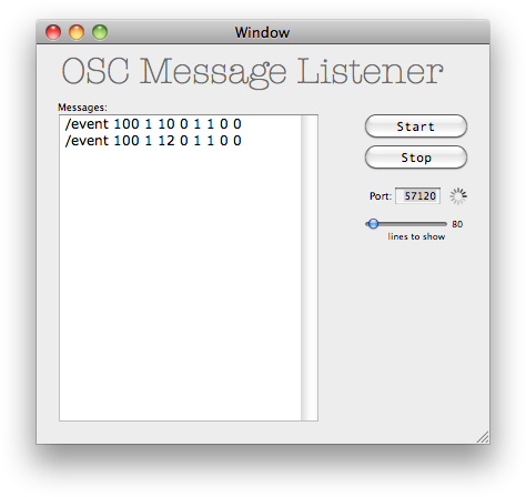osclistener